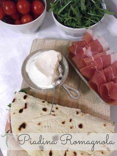 Piadina: italian flat bread