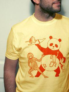Un t-shirt 100% kawaïïïïï, en coton biologique et équitable, un T-shirt en provenance directe du Japon, réalisé par notre invité du mois : Kimiaki.