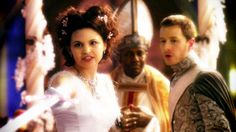 """Snow White and Prince Charming Once Upon a Time 1x01 """"Pilot"""""""