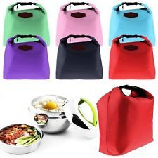 Thermal Travel Picnic Lunch Portable Tote Waterproof Insulated Cooler Carry Bag Picnic Lunches, Picnic Bag, Storage Boxes, Bag Storage, School Readiness, Bag Organization, Carry On Bag, Lunch Box, Pouch