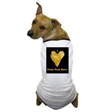 Personalizable Heart Shaped Potato Chip Dog T-Shir