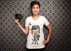 Take a Shot with Vintage Camera T-shirt Designs