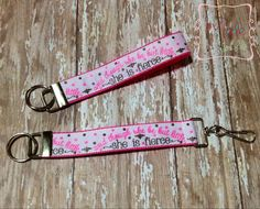 Key fob key chain wristlet in She is fierce by AllenMADEforLife, $5.50  https://www.etsy.com/listing/196905779/key-fob-key-chain-wristlet-in-she-is?ref=sr_gallery_32&ga_order=date_desc&ga_view_type=gallery&ga_ref=fp_recent_more&ga_page=61&ga_search_type=all