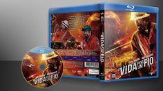 A Vida Por Um Fio (Blu-Ray) - Capa | VITRINE - Galeria De Capas - Designer Covers Custom | Capas & Labels Customizados