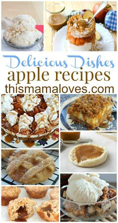 Delicious Dishes Recipe Party: Apple Dishes It's SO CLOSE TO FALL, you guys! I'm so excited. I love fall. Living in New England, I've been spoiled by the c