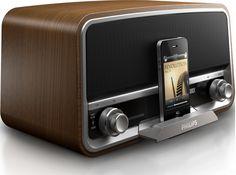 Philips Original Radio ORD7100C - Station d'accueil vintage pour iPhone & iPod