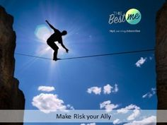 Make Risk your Ally Cool Things To Make, How To Make, Education, Learning, Movies, Movie Posters, Film Poster, Studying, Films