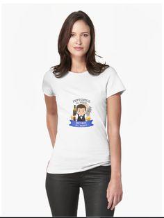 e271a0bc PERTENECE AL MEJOR BARTENDER Camisetas entalladas para mujer Red And Teal,  Teal Blue, Tee