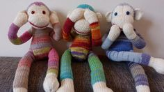 Goes with the Good Ideas board, how to make a sock monkey.