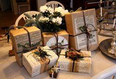 Callian, Antikt & Brocante: Beautiful wrapping
