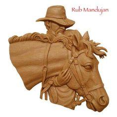 Wood Carving Designs, Wood Carving Patterns, Wood Carving Art, Wood Art, Horse Sculpture, Animal Sculptures, Horse Head, Horse Art, Bone Crafts