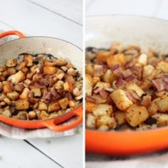 Smoky Roasted Turnips Recipe - Obviously everything is good with bacon but this looks really good!
