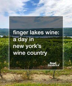 Your Guide to New York's Finger Lakes Wine Country #WineTravel #WineTasting #NewYorkFingerLakes #FingerLakes