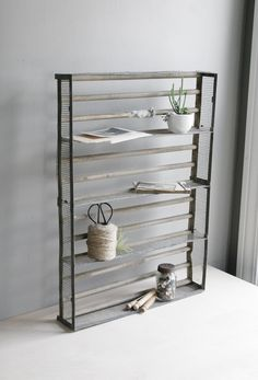 industrial shelf  / display box.