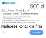 Konto Firma To Ja Idea Bank to darmowy rachunek doskonale wspomagający i ułatwiającyzarządzanie finansami firmy. Oprócz braku opłat za usługi, za które gdzie indziej zapłacimy bank daje gratisowo mnóstwo atrakcyjnych funkcjonalności. Dostaniemydarmowo program do fakturowania,