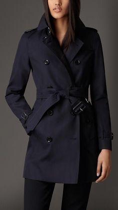 Trench coat em gabardine de algodão | Burberry