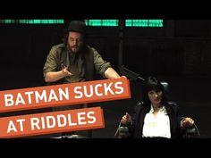 Batman Meets the Riddler - YouTube
