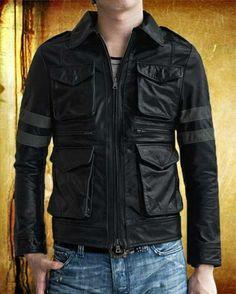 """Resident Evil6"" Leather Jacket"