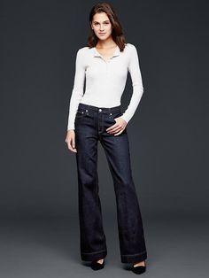 GAP Plus-Size 1969 Authentic Flare Jeans