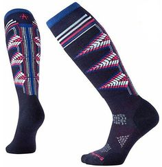 Smartwool Women's PhD Ski Light Pattern Socks | Bill & Paul's | Grand Rapids, MI