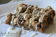 Apple Oatmeal Bar from Mix & Match Mama
