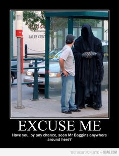 The Nazgul would get a lot further if they were a bit more polite.
