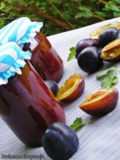 Śliwki w czekoladzie. Plums in chocolate. Quesadilla, Plum, Pudding, Chocolate, Fruit, Food, Quesadillas, Custard Pudding, Essen