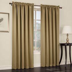 Sun Zero Gramercy Room Darkening Curtain,