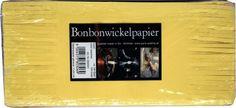 Bonbonwickelpapier Bund Seidenpapier 11 x 24 cm ca. The 100, How To Make, Self, Candy