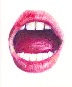 Open mouth Chaunte Vaughn