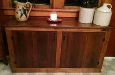 Kitchen Cabinet from barnwood I just made Coldwater Primitives