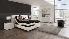 adjustable bed Interior Design Images, Interior Design Inspiration, Living Styles, Adjustable Beds, Awesome Bedrooms, Small Rooms, Room Set, Apartment Living, Bed Sheets