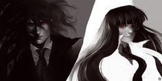 Same Monster by chickenoverlord on DeviantArt – Typical Miracle Hellsing Alucard, Dracula, Anime, Horror, Funny Pictures, Fan Art, Cosplay, Deviantart, Manga