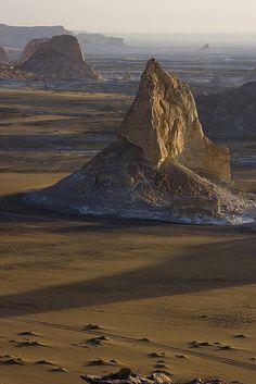 Sunrise in the White Desert  by J.Krejci, via Flickr