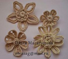 Irish crochet &: Малые формы в Ирландском кружеве от разных мастеров.