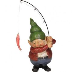 Image result for gnome fishing