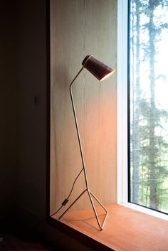 Strand table and floor lamp, by Dublin-based Clancy Moore Architects.