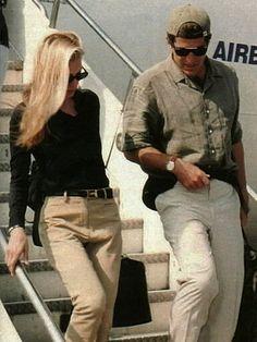 Carolyn Bessette & JFK, Jr.