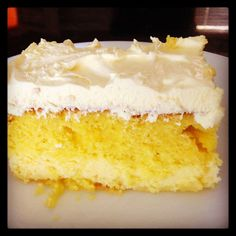 Monster Mama: Lemon Love Cake (can customize to any flavor)