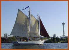 """Schooner kids - """"What Boat is That?"""" is a two hour dockside class for children ages 4-12. aboard the 67' wooden schooner LAVENGRO, located at the Center for Wooden Boats in South Lake Union    Our two hour program includes:  Raising Sails Together & Basic Knot Tying   Learning How to Identify Different Kinds of Boats   Handmade Bookbinding, Drawing & Printmaking To Take Home    schoonerkids.org.    classes are $20 per student and are offered every Thursday at 10:30am."""