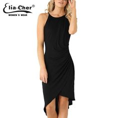 Women dresses  casual women Clothing sexy and Solid Tank dresses