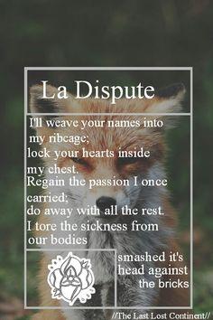 La Dispute// The Last Lost Continent