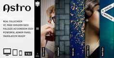 ASTRO: THEMEFOREST WORDPRESS PHOTOGRAPHY THEMES  #wordpressphotographythemes