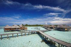 5 paradisíacos Resorts nas Maldivas; O Gili Lankanfushi Maldives é um dos Resorts que estão na lista dos mais belos e paradisíacos das Ilhas Maldivas