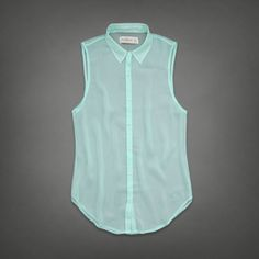 Womens Evette Chiffon Shirt | Womens Clearance | Abercrombie.com