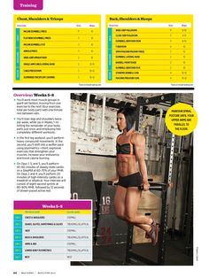 Muscle & Fitness Hers Magazine - Training Plan Part 2