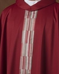 The Holy Rood Guild > Chasubles & Copes > Tisbury Poppy Chasuble: liturgical vestment for priest or deacon Priest, Poppy, Color, Colour, Poppies, Colors