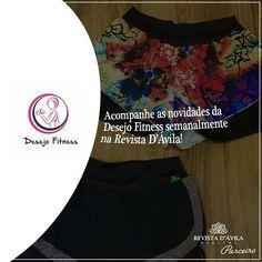 Acompanhe todas as novidades sobre Moda Fitness com as matérias semanais da nossa parceira Desejo Fitness!