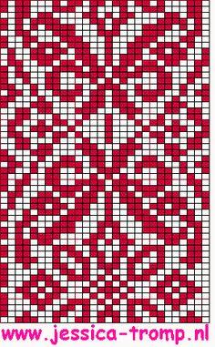 Ornaments and patterns (+oriental) - Monika Romanoff - Picasa Web Albums Fair Isle Knitting Patterns, Knitting Charts, Knitting Stitches, Knitting Designs, Motif Fair Isle, Fair Isle Chart, Fair Isle Pattern, Filet Crochet, Crochet Chart