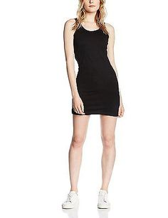 10 (Manufacturer Size:Medium), Black, Skinni Fit Women's Ladies Stretch Vest Dre